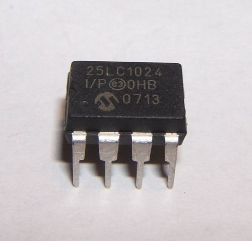 MICROCHIP - 24AA1025-I/P - IC, EEPROM SERIAL 1024K